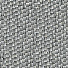 Fabric Basket Weave Wicker Gray Silver on Cotton 1 yard S