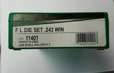 RCBS FL 2 die set for .243 Winchester, #11401, NIB