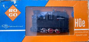 ROCO 4001 HOe 009 Schmalspur Dampf-Lok 0-6-0 N NARROW GAUGE TANK Scale Bahn