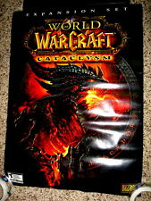 World of Warcraft Cataclysm Movie Poster 19.5 x 27 Double Sided Rolled