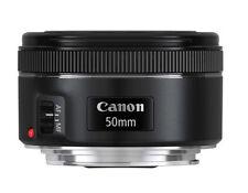 GENUINE Canon EF 50mm f/1.8 STM Camera Pancake Lens