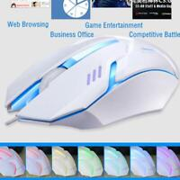Mice Ergonomics Wired Gamer Mouse Flank Cable Laptop PC Gaming Mouse best new