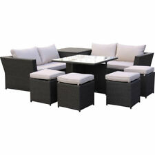 Unbranded Up to 8 Seats Garden & Patio Furniture Sets with 8 Pieces