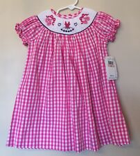 New Marmellata Smocked Ballerina Pink Dress Size 2t