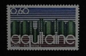 Timbre poste. France. n°1864. Régions. Aquitaine