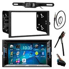 "JVC 6.5"" Bluetooth DVD CD Radio,Rear Camera,GM 90-UP Install Kit,Antenna Adapter"