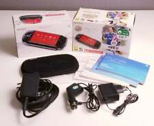 PSP 3004-PB FIFA 10 Box complete with pouch, manuals and chargers NO CONSOLE