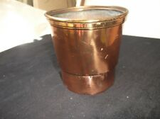 GENUINE VINTAGE COPPER SIEVE / INFUSER SMALL SIZE IDEAL PLANT POT
