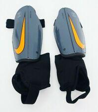 Nike Charge Soccer Shin Guards Unisex Youth Size M MediumDark Grey/Total Orange