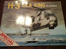 SQUADRON SIGNAL IN ACTION  N.150 H-3 SEA KING HELICOPTER