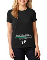 NEW Baby Loading T Shirt Pregnancy Announcement Gift Baby Shower Baby On Board