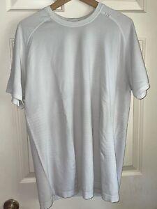Lululemon Mens Athletic Shirt XL White