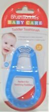 Brush Buddies Baby Care Toddler Blue Toothbrush For 3-36 Month