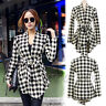 Womens Open Front Trench Coat Long Cloak Jackets Overcoat Waterfall Cardigan