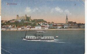 Bratislava, Pressburg, mit Schlossberg gl1920? F4794