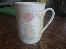 Precious Moments Collection,Coffee Mug (2 1/2 inches tall/deep) verse on back