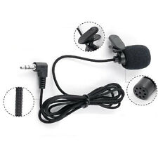 Mini Clip-On Lapel Lavalier Wired Double Track Microphone For SmartPhones
