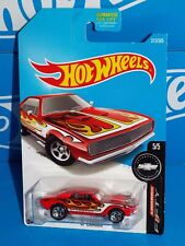 Hot Wheels 2017 Camaro Fifty Series #313 '67 Camaro Red w/ 5SPs