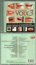 CD - LES PLUS BELLES VOIX 3 avec LAHAYE, LARA FABIAN, EDDY MITCHELL, NOLWENN