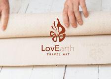 LovEarth Yoga Mat Natural Eco-Mat Environmentally Friendly Earth Positive