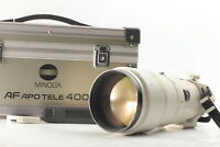 [Exc+4] Minolta High Speed AF APO Tele 400mm f4.5 G Lens Sony A Mount From JAPAN
