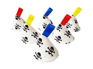 Skulls Pee Pee TeePee x 6 // Wee Stop Cones Teepees // Boy Baby Shower Gift