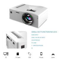 Mini Pocket LED Heimkino-Beamer Projector HD 1080P Portable Cinema HDMI USB