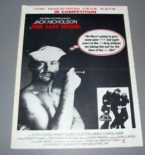 Jack NICHOLSON (Affichette Cinema) THE LAST DETAIL