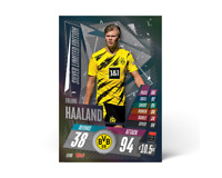 Match Attax 20/21 - Erling Braut Haaland Silver Limited Edition Card - Pre-Order