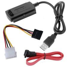 SATA/PATA/IDE to USB 2.0 Adapter Converter Cable for 2.5/3.5 Inch Hard Drive  W7