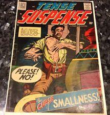 Tense Suspense #1 Nice Unrestored Fago First Issue Horror Comic 1958 VG
