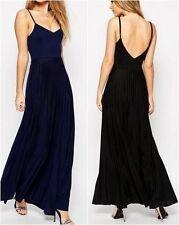 Jersey Sleeveless Maxi Dresses Size Petite for Women