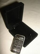 JOHNSON MATTHEY 1oz .999 FINE SILVER BULLION MONEY CLIP