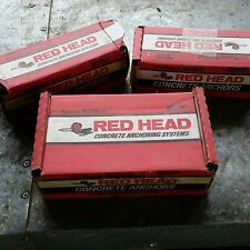 RED HEAD CONCRETE ANCHORS