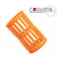 Skelox Plastic Hair Rollers/ Curlers 12 X 40mm Orange Pins