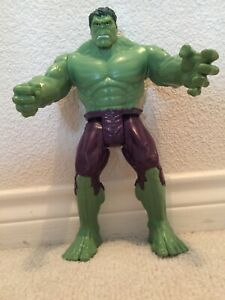 "2013 HASBRO THE INCREDABLE HULK 11.5"" GREEN MARVEL ACTION FIGURE - #A4810 RARE!"