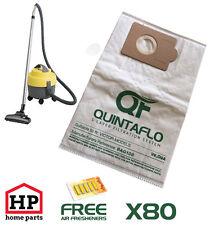 80X Victor V9,D9,D9A QuintaFlo Vacuum Hoover Dust Bags,Best Quality-Not Paper!