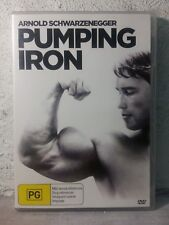 Pumping Iron DVD - REGION 4_Arnold Schwarzenegger 1977 DOCUMENTARY BODYBUILDING