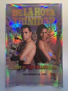 Oscar De La Hoya vs Felix Trinidad Holographic Official On-Site Poster
