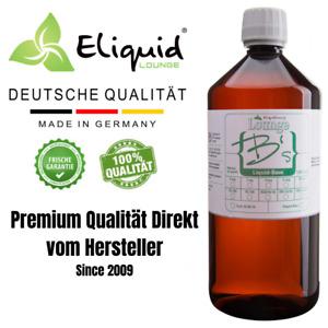 Liquid Base Basis 1000ml PG VG VPG 0 mg Glycerin Propylenglykol 50/50 70/30 DIY