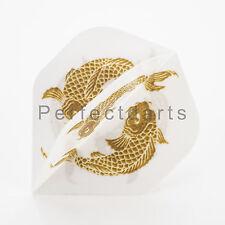 1 x SET UNICORN KOI GOLDEN CARP FISH DART FLIGHTS - Big Wing Standard