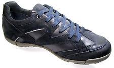 Geox Respira Herren Sneaker Navy Used Optik - Sportlicher Schnürschuh - Größe 41