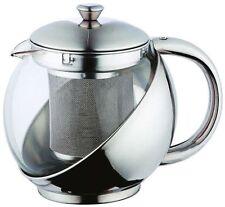 Renberg Teekanne 750 Ml Tee Glaskanne Teekessel Edelstahl Teebereiter Teesieb