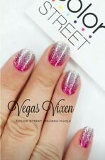 Color Street VEGAS VIXEN (Pink Silver Ombre Gradient Glitter Winter Holiday)