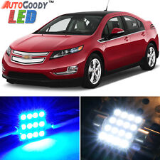 9 x Premium Blue LED Lights Interior Package for Chevy Volt 2011-2015 + Tool