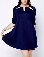 BNWT THREADS CUT OUT NECK CASUAL SKATER DRESS SIZE 22 PLUS SIZE ♡♡♡