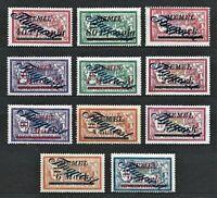 Memel WWI German Rare WWI Stamp 1922 Air Avia Overprint FLUGPOST AirMail Service