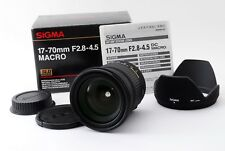 Near Mint Sigma DC 17-70mm f/2.8-4.5 DC MACRO Lens Canon w/box from Japan