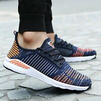 Fashion Men's Air Mesh Running Breathable Sports Casual Athletic Sneakers Shoes