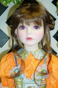 Doll Wig Monique #148 size 13/14 fits Lusion, Trinity - Lt. Brown